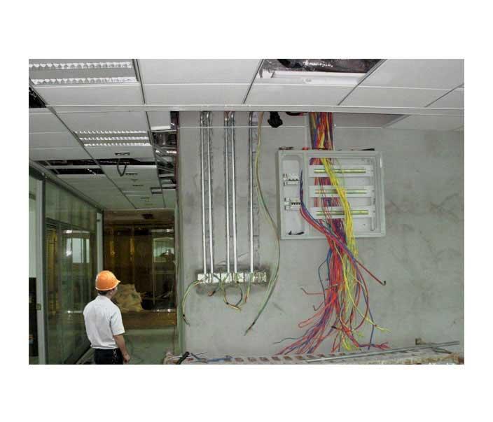 厂房照明线路安装及检查维护
