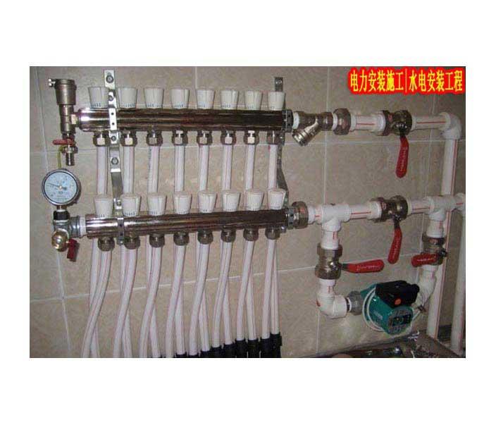 工厂水电施工改造