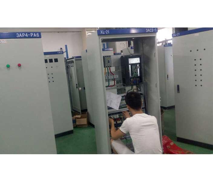 动力配电柜安装区