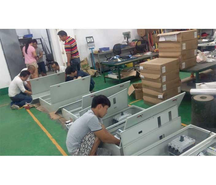 低压配电箱安装区