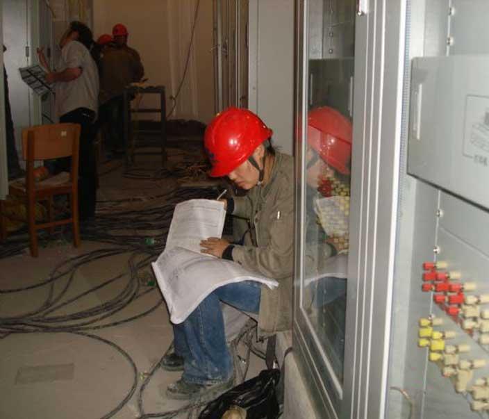 电气安装施工队
